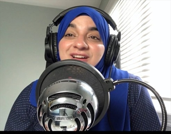 Mifrah Abid, pictured, recorded the first episode of her podcast on April 7. Since then, she's interviewed a wide range of women with immigrant roots who span a wide range of careers.June 5, 2020