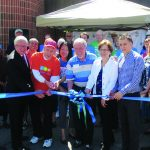 Ribbon Cutting Habitat Restore and Transitional Housing Offices