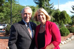 Milton Hospital expansion with Minister Deb Matthews