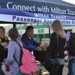 Milton Transit customer appreciation day