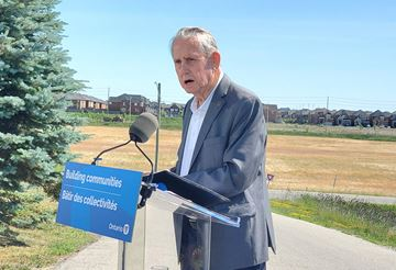 Milton Mayor Gord Krantz said that the Milton Education Village project has been a long time coming.