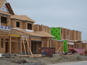 Town has received expressions of interest from developers to build over 8,000 housing units over the next six years.