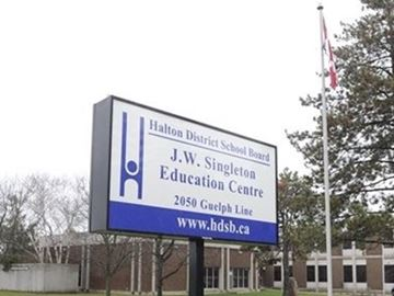 Halton District School Board headquarters
