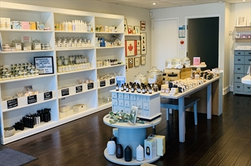 Lala Soap Company's online business increased by 500 per cent when the pandemic forced the closure of its bricks and mortar store on Charles Street in Milton. It has since reopened.