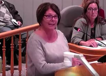 Milton Heights resident Barbara Varanelli says she'd rather spend about $40,000 in sewer connection fee than getting a new septic system.