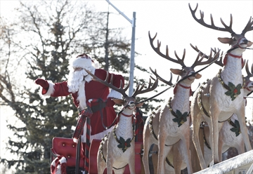 The annual Milton Santa Claus Parade attracted thousands last year.