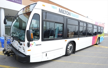 New funding announced for Milton Transit.