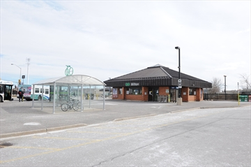 The Milton GO Station on 780 Main St. E.