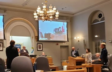 Milton council discusses 2020 budget at a meeting in town hall on Monday, Dec. 9, 2019.