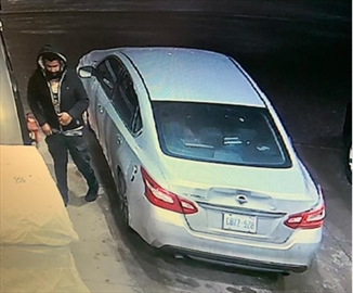 Halton Regional Police are looking to identify a man suspected of fuelling up without attempting to pay. In addition, the vehicle's licence plates were fake and printed on paper.