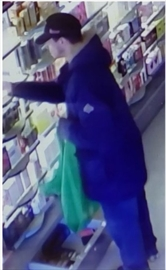 Halton Police are looking for information regarding the theft of frangrances from a Milton Shoppers Drug Mart. The value of the stolen merchandise is more than $3,000.