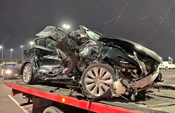 A crash on Highway 401 near Guelph Line in Milton Wednesday, Feb. 26 left a young driver injured but facing careless driving charges
