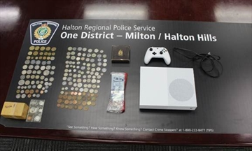 A Milton man has been arrested after Halton Police observed the accused in possession of a stolen bicycle.