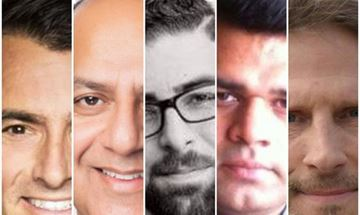 Milton riding candidates for the federal election include (from left) Adam van Koeverden with the Liberals, Nadeem Akbar of Conservatives, Shibli Haddad of the PPC, Muhammad Riaz Sahi with the NDP, and Chris Kowalchuk of the Green Party.