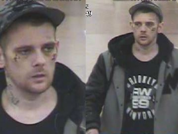 This man is wanted after a major theft at a Milton Walmart.
